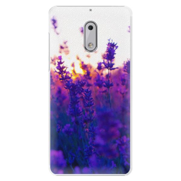 Plastové pouzdro iSaprio - Lavender Field - Nokia 6