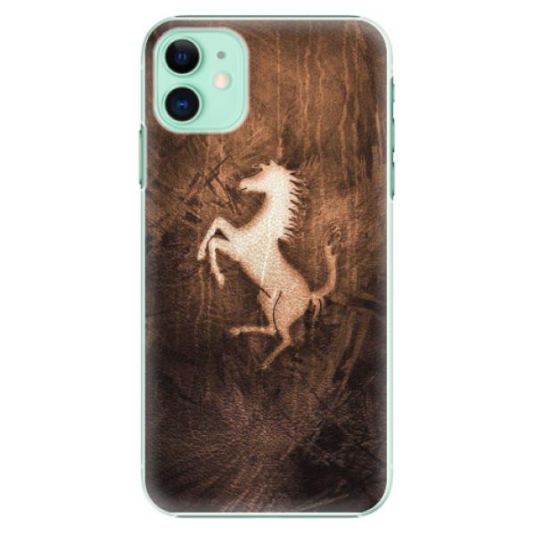 Plastové pouzdro iSaprio - Vintage Horse - iPhone 11