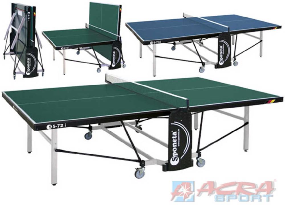 ACRA Stůl na stolní tenis (pingpong) Sponeta S5-72i modrý