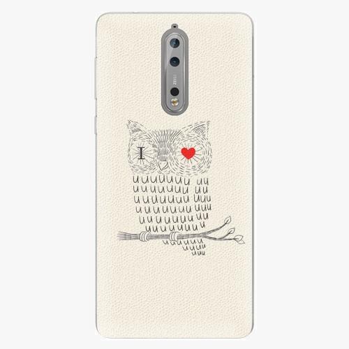 Plastový kryt iSaprio - I Love You 01 - Nokia 8