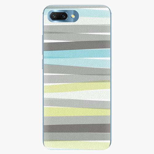 Silikonové pouzdro iSaprio - Stripes - Huawei Honor 10