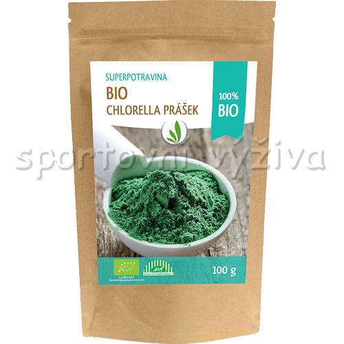 Allnature 100% BIO Chlorella prášek 100g