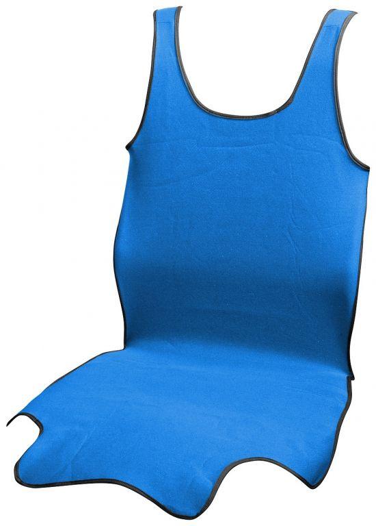 Potah sedadla přední TRIKO SOFT - modrý