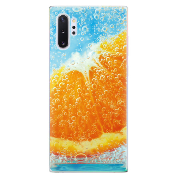 Odolné silikonové pouzdro iSaprio - Orange Water - Samsung Galaxy Note 10+