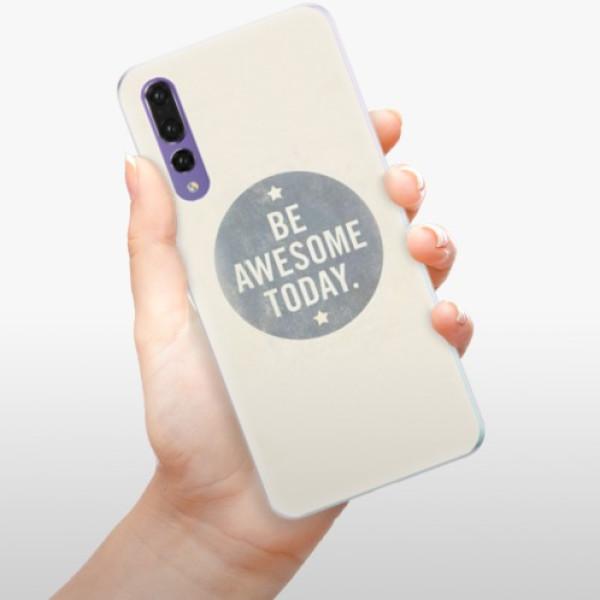 Silikonové pouzdro iSaprio - Awesome 02 - Huawei P20 Pro