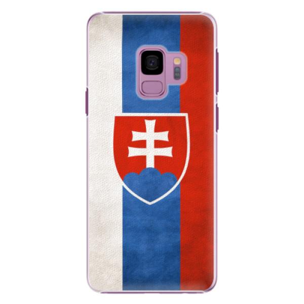 Plastové pouzdro iSaprio - Slovakia Flag - Samsung Galaxy S9