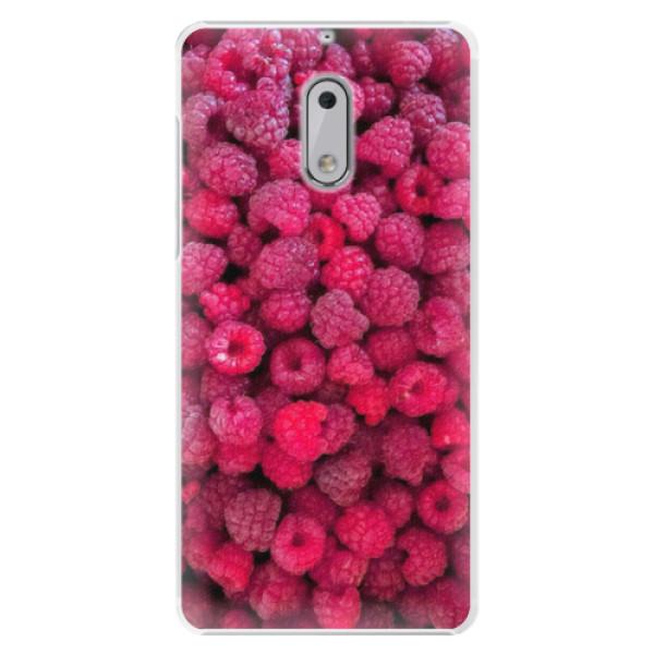 Plastové pouzdro iSaprio - Raspberry - Nokia 6