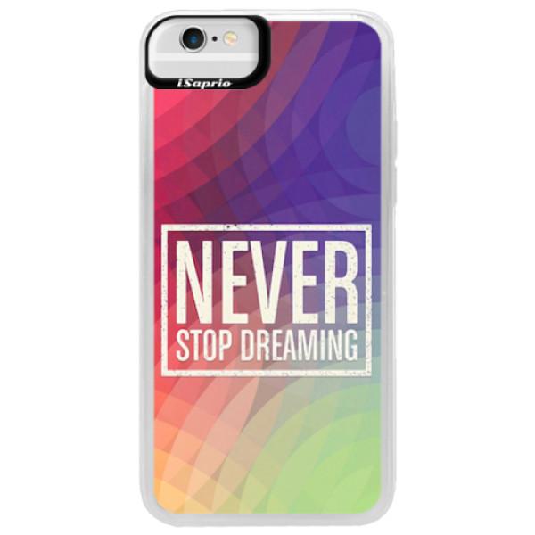 Neonové pouzdro Blue iSaprio - Dreaming - iPhone 6/6S
