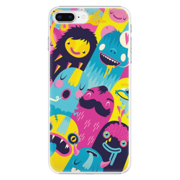 Plastové pouzdro iSaprio - Monsters - iPhone 8 Plus
