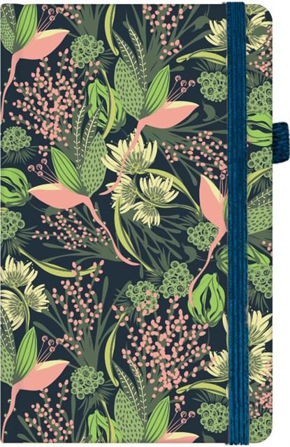 Kapesní diář - Neon květy