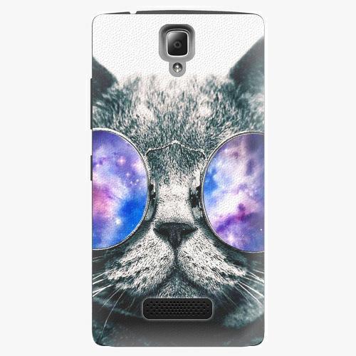 Plastový kryt iSaprio - Galaxy Cat - Lenovo A2010