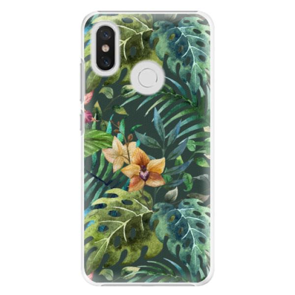 Plastové pouzdro iSaprio - Tropical Green 02 - Xiaomi Mi 8