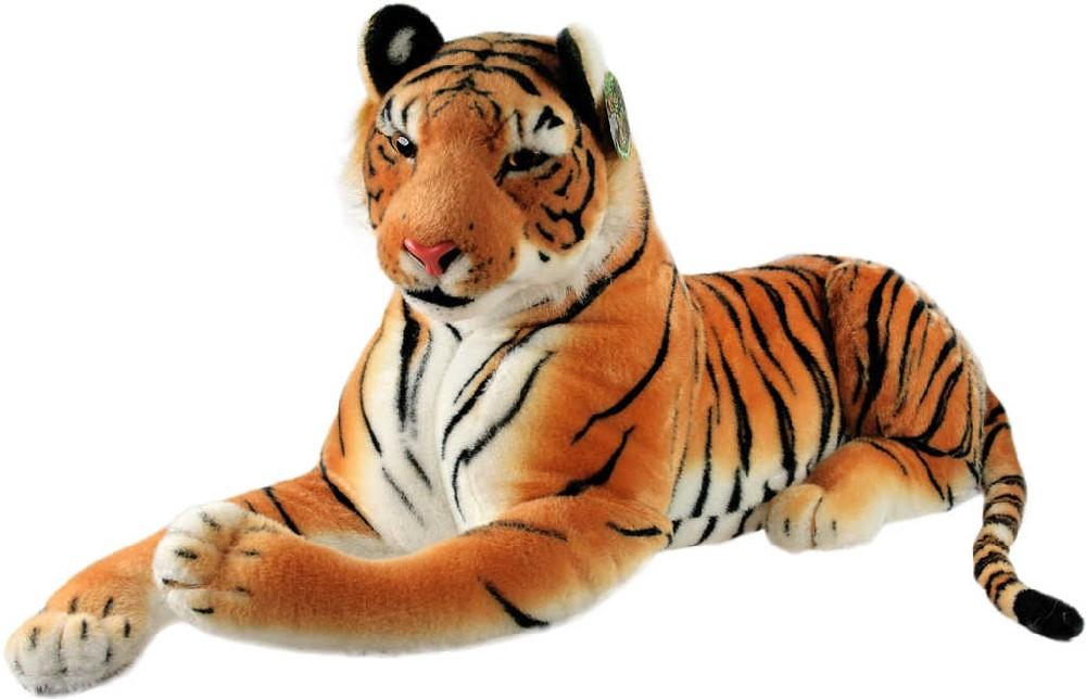 PLYŠ Tygr hnědý ohromný * PLYŠOVÉ HRAČKY *