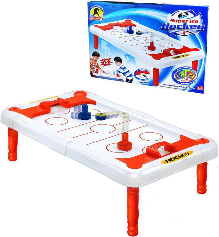 Hra vzdušný hokej stolní Air Hockey v krabici