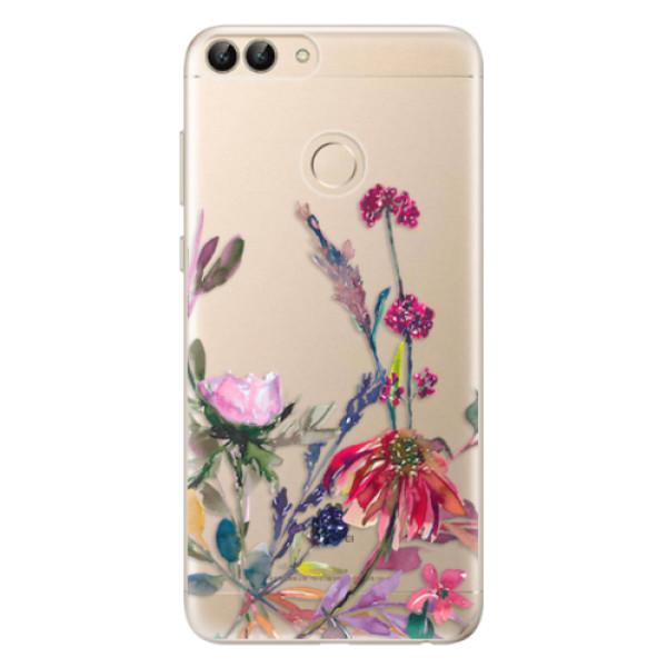 Odolné silikonové pouzdro iSaprio - Herbs 02 - Huawei P Smart