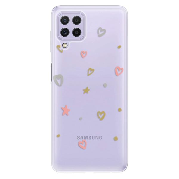 Odolné silikonové pouzdro iSaprio - Lovely Pattern - Samsung Galaxy A22