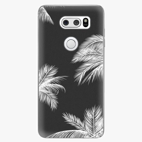Plastový kryt iSaprio - White Palm - LG V30