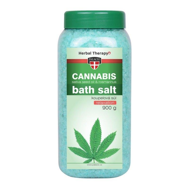 Cannabis Rosmarinus koupelová sůl 900 g