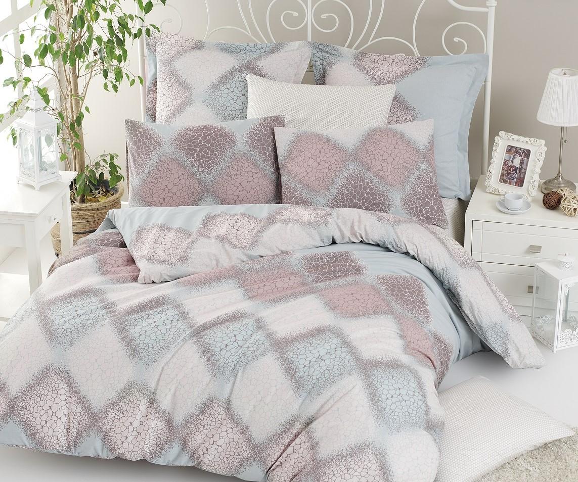 Povlečení francouzské bavlna 220x220,70x90 Mandy, Výběr zapínání: