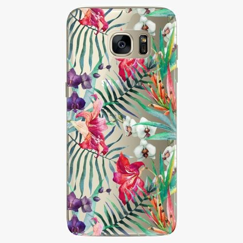 Plastový kryt iSaprio - Flower Pattern 03 - Samsung Galaxy S7 Edge
