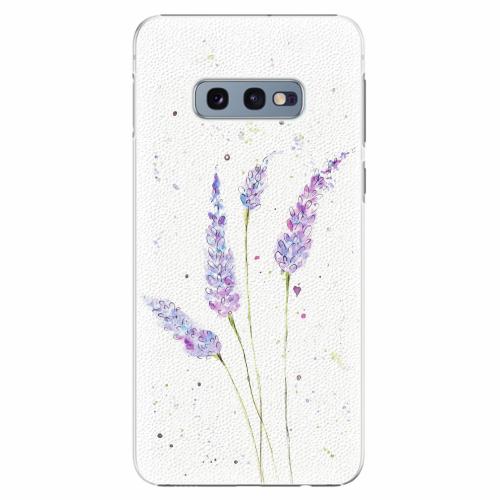 Plastový kryt iSaprio - Lavender - Samsung Galaxy S10e