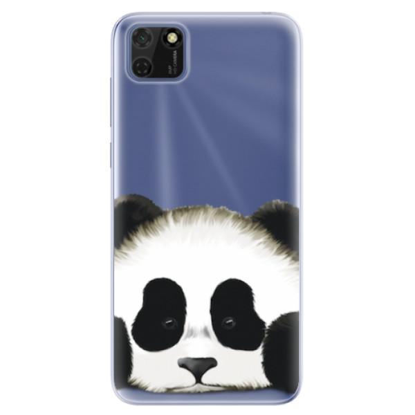 Odolné silikonové pouzdro iSaprio - Sad Panda - Huawei Y5p