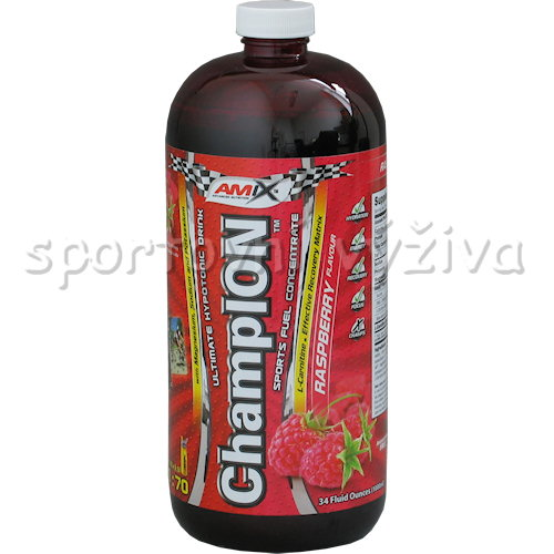 ChampION Sports Fuel Concentrate - 1000ml-red-raspberry