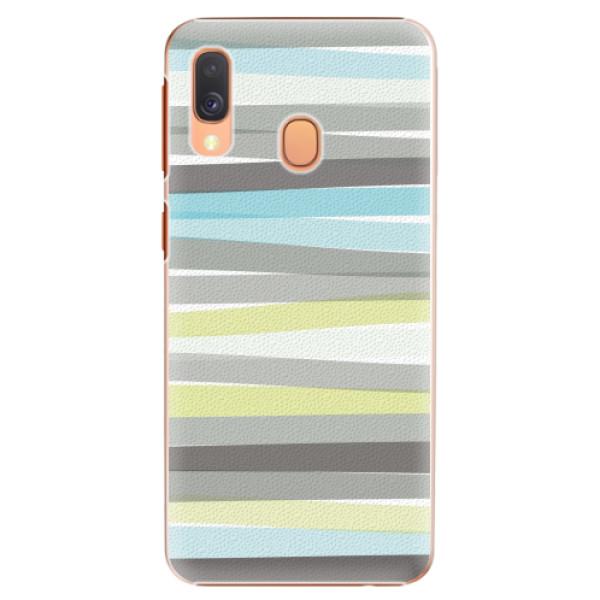 Plastové pouzdro iSaprio - Stripe - Samsung Galaxy A40