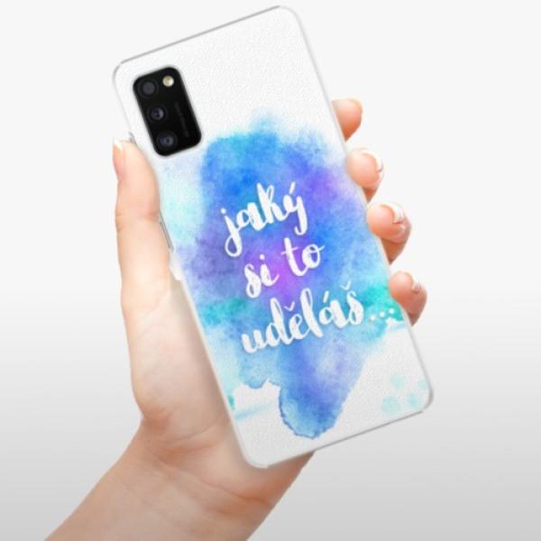 Plastové pouzdro iSaprio - Jaký si to uděláš - Samsung Galaxy A41