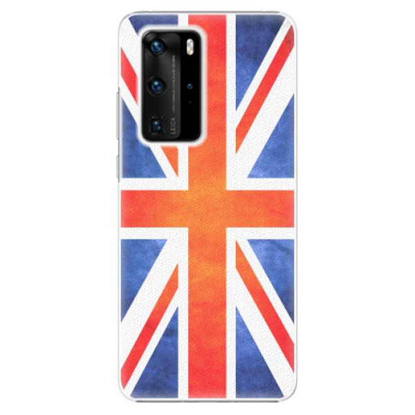 Plastové pouzdro iSaprio - UK Flag - Huawei P40 Pro