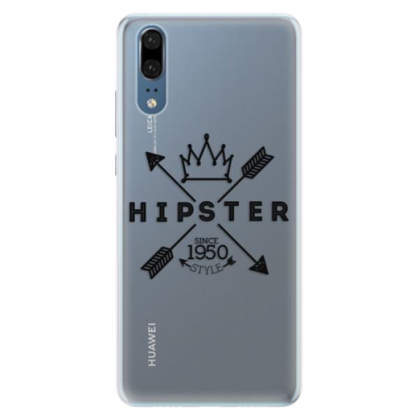 Silikonové pouzdro iSaprio - Hipster Style 02 - Huawei P20