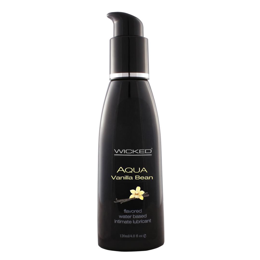 Lubrikant WICKED Aqua - Vanilla Bean - 4oz