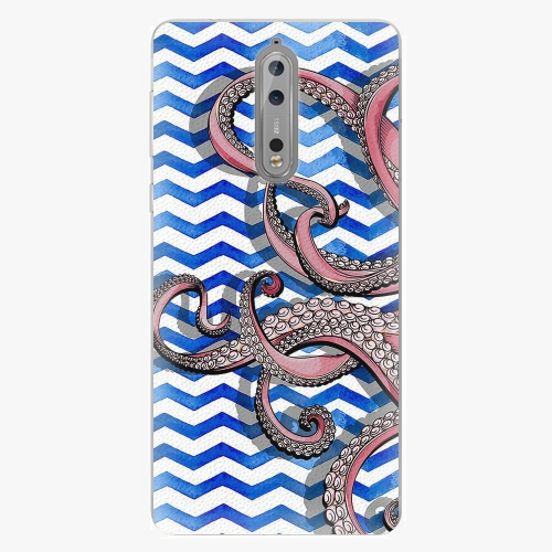 Plastový kryt iSaprio - Octopus - Nokia 8