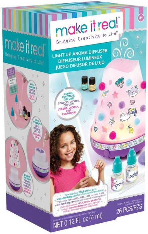 MAKE IT REAL Aroma difuzér osvěžovač vzduchu set s vonnými oleji