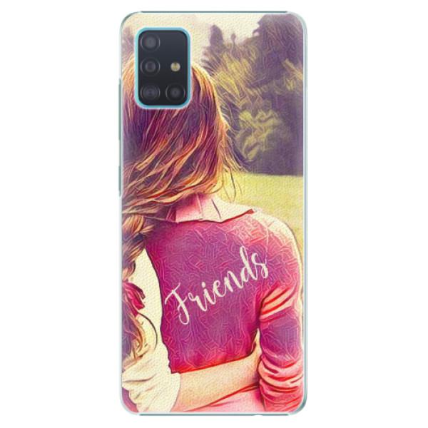 Plastové pouzdro iSaprio - BF Friends - Samsung Galaxy A51