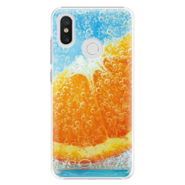 Plastové pouzdro iSaprio - Orange Water - Xiaomi Mi 8