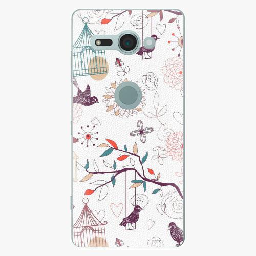 Plastový kryt iSaprio - Birds - Sony Xperia XZ2 Compact