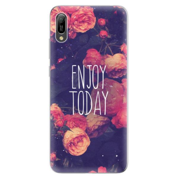 Odolné silikonové pouzdro iSaprio - Enjoy Today - Huawei Y6 2019