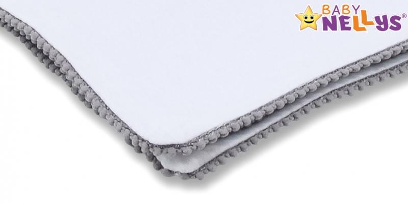 baby-nellys-letni-deka-s-mini-bambulkami-jersey-100-x-75-cm-bila-sedy-lem