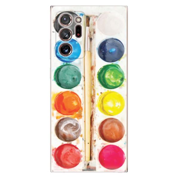 Odolné silikonové pouzdro iSaprio - Watercolors - Samsung Galaxy Note 20 Ultra