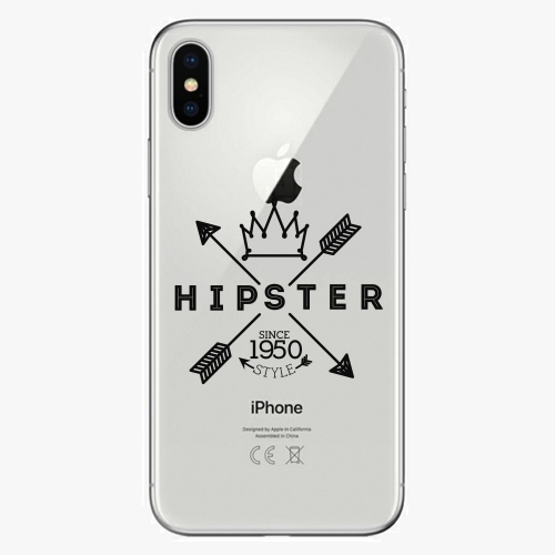 Plastový kryt iSaprio - Hipster Style 02 - iPhone X
