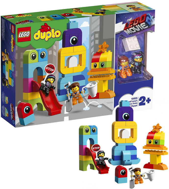 LEGO DUPLO PŘÍBĚH 2: Emmet a Lucy a návštěvníci 10895