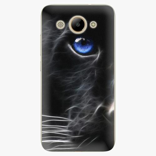 Plastový kryt iSaprio - Black Puma - Huawei Y3 2017