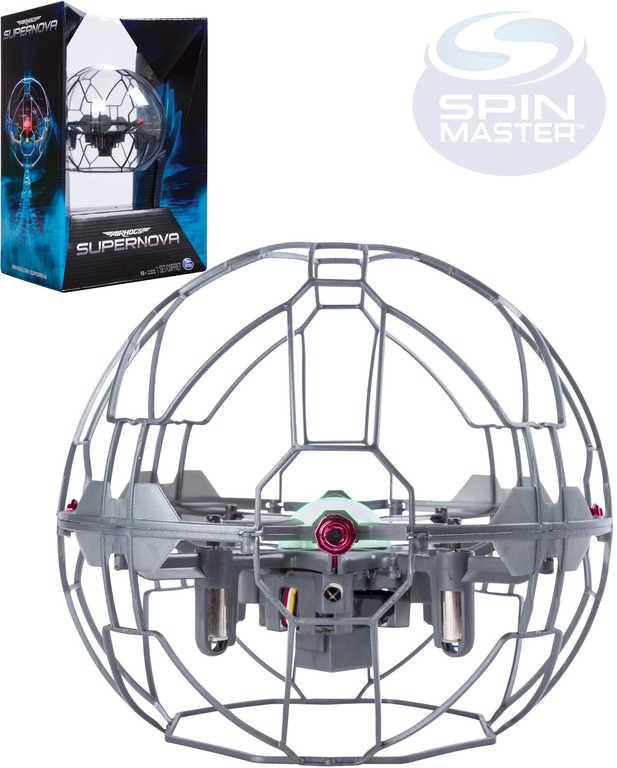 SPIN MASTER Air Hogs Supernova létající koule interaktivní dron ovládání gesty Světlo