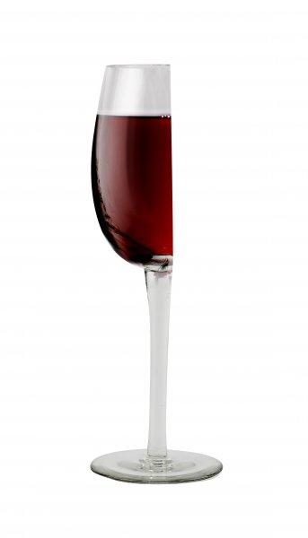 Luxusní poloviční sklenice na víno