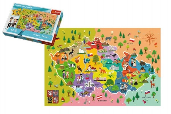 vzdelavaci-puzzle-mapa-ceske-republiky-44-dilku-60x40cm-v-krabici-33x23x6cm