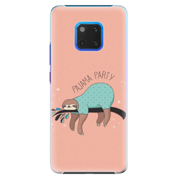 Plastové pouzdro iSaprio - Pajama Party - Huawei Mate 20 Pro