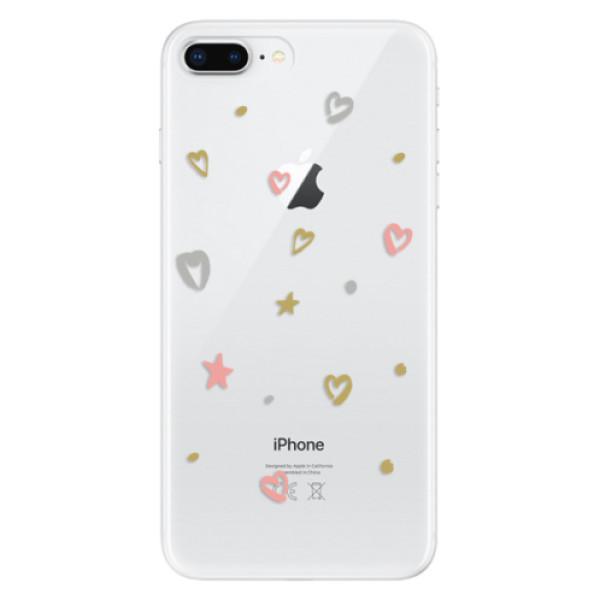 Odolné silikonové pouzdro iSaprio - Lovely Pattern - iPhone 8 Plus