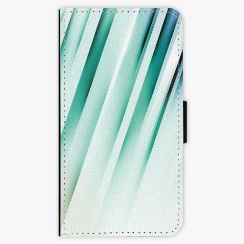 Flipové pouzdro iSaprio - Stripes of Glass - Samsung Galaxy A3