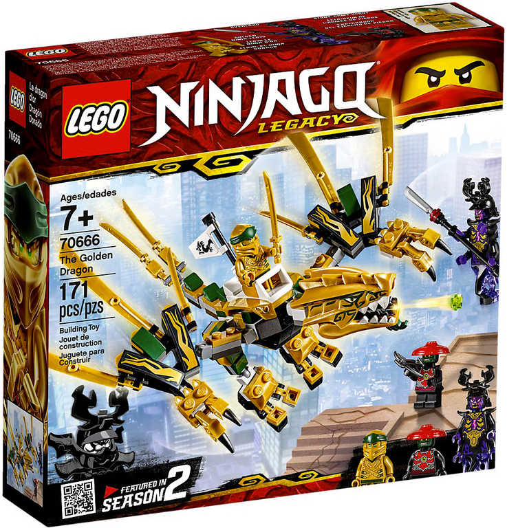 LEGO NINJAGO Zlatý drak 70666